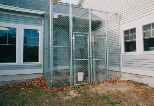 Kennel enclosure
