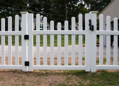 Vinyl Rothbury Concave gate