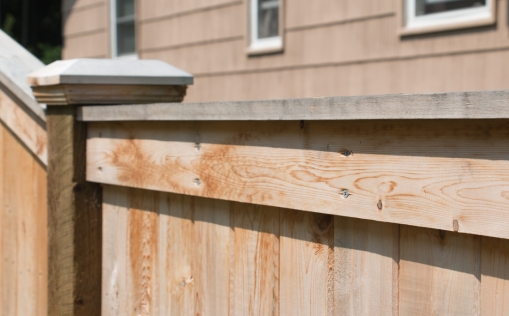 Detail of Fascia Board and Dado Cap on Amherst Series