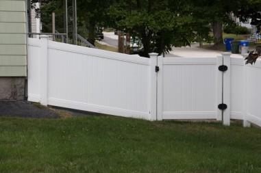 Vinyl Lexington gate