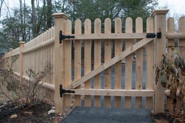 Popsicle Stick Gate (back)