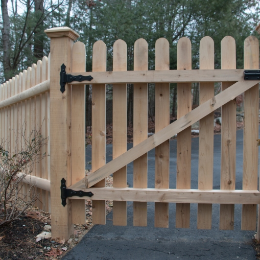 Popsicle Stick Gate (back)