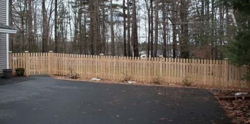 Popsicle Stick Fence