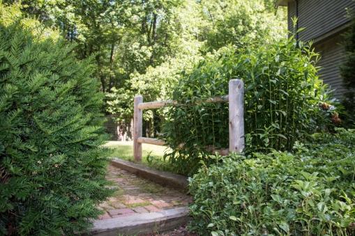 2-rail round cedar post & rail