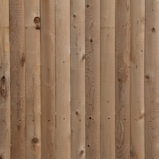 Detail of Rustic Grade Cedar Stockade